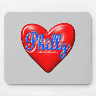 I Liebe Philly Mousepad
