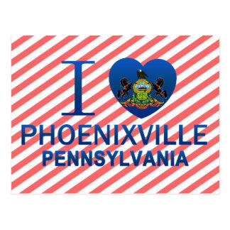 I Liebe Phoenixville, PA Postkarte