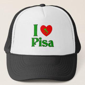 I Liebe Pisa Italien Truckerkappe