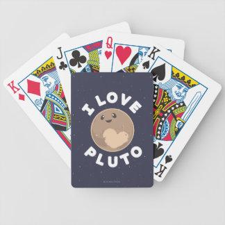 I Liebe Pluto Bicycle Spielkarten