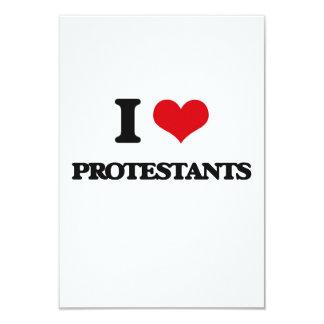 I Liebe-Protestanten Einladungskarte