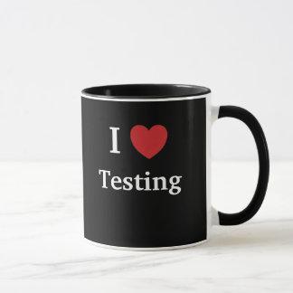 I Liebe-prüfenLieben ich motivierend Tasse