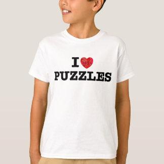 I Liebe-Puzzlespiele T-Shirt