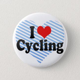 I Liebe-Radfahren Runder Button 5,7 Cm