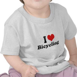 I Liebe-Radfahren T-shirt