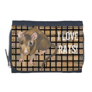 I Liebe-Rattengeldbörse/-geldbeutel