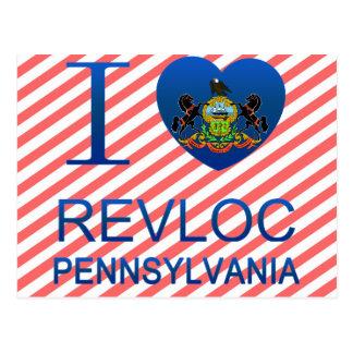 I Liebe Revloc, PA Postkarte
