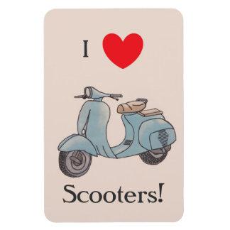 I Liebe-Roller! Flexi Magnet
