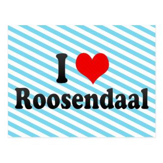 I Liebe Roosendaal, die Niederlande Postkarte