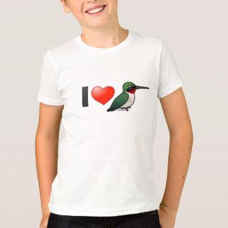 I Liebe Rubin-Kehlen T-Shirt