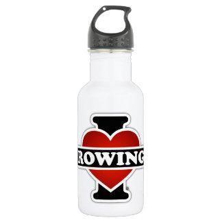 I Liebe-Rudern Trinkflasche