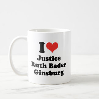 I LIEBE RUTH BADER GINSBURG - .PNG KAFFEEHAFERL