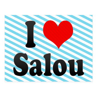 I Liebe Salou, Spanien. Ich Encanta Salou, Spanien Postkarte