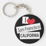 I Liebe San Francisco Kalifornien Schlüsselband