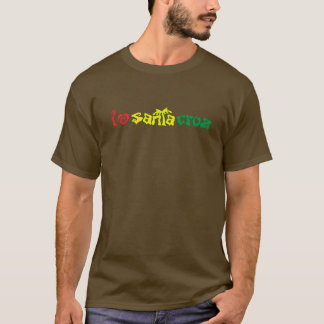 I Liebe Santa Cruz Rasta T-Shirt