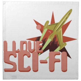 I Liebe Sci-FI Serviette