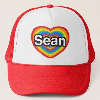 I Liebe Sean. Liebe I Sie Sean. Herz Truckerkappe