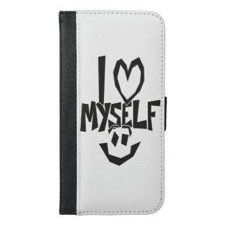 I Liebe selbst smiley iPhone 6/6s Plus Geldbeutel Hülle