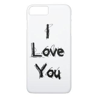 I Liebe Sie iPhone 8 Plus/7 Plus Hülle