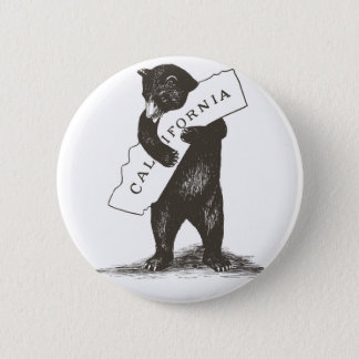 I Liebe Sie Kalifornien Runder Button 5,1 Cm