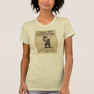 I Liebe Sie Kalifornien-Shirt T-Shirt