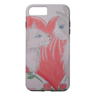 I Liebe Sie Katzen iPhone 8 Plus/7 Plus Hülle