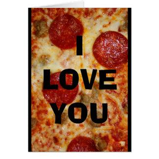 I Liebe Sie mehr als Pizza! Karte