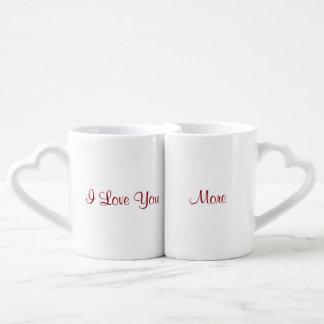 I Liebe Sie mehr Liebestassen