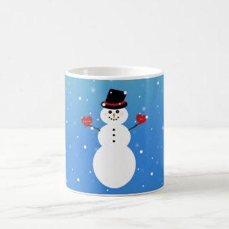 I Liebe Sie mehr Snowman Verwandlungstasse