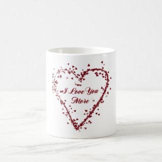 I Liebe Sie mehr Tasse