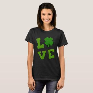 I Liebe-St Patrick TagesKleeblatt T-Shirt
