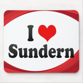 I Liebe Sundern, Deutschland Mauspads