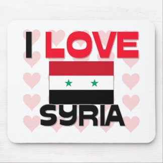 I Liebe Syrien Mousepad