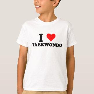 I Liebe Taekwondo T-Shirt