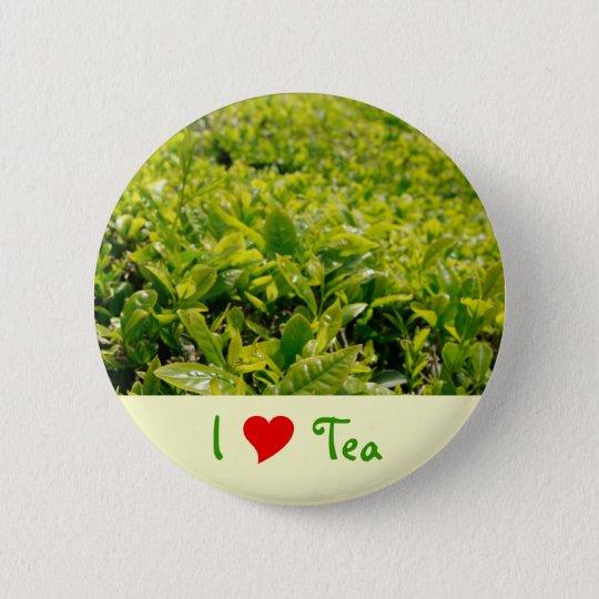 I Liebe-Tee Runder Button 5,1 Cm