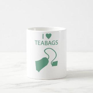 I Liebe-Teebeutel-Tasse Tasse