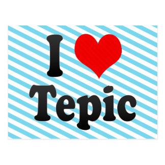 I Liebe Tepic, Mexiko. Ich Encanta Tepic, Mexiko Postkarte
