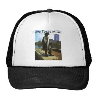 I Liebe-Texas-Musik Truckermützen