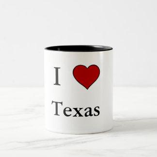 I Liebe Texas - Zwei-Ton Tasse