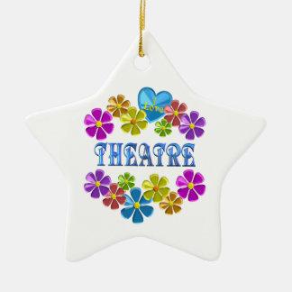 I Liebe-Theater Keramik Ornament