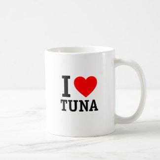 I Liebe-Thunfisch Kaffeetasse