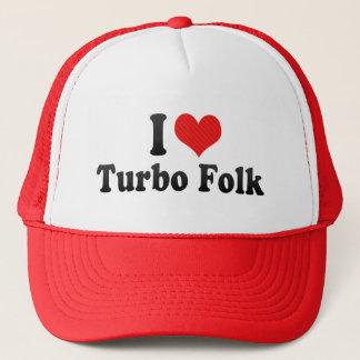 I Liebe-Turbo-Völker Truckerkappe