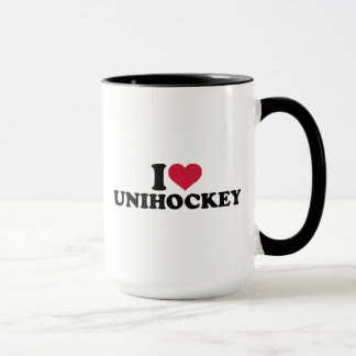 I Liebe Unihockey Tasse