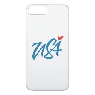 I Liebe USA iPhone 8 Plus/7 Plus Hülle