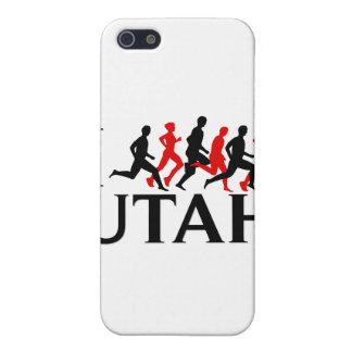 I LIEBE UTAH, LASSE ICH UTAH LAUFEN iPhone 5 ETUI