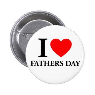 I Liebe-Vatertag Button