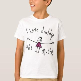 I LIEBE-VATI DIESES VIEL! NEUE T-Shirt