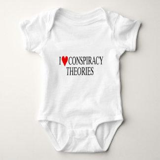 I Liebe-Verschwörungs-Theorien Baby Strampler