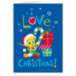 I Liebe-Weihnachten - Tweety Karte