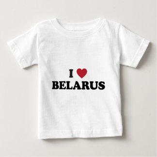 I Liebe Weißrussland Baby T-shirt